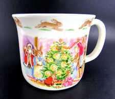 ROYAL DOULTON BONE CHINA MERRY CHRISTMAS FROM BUNNYKINS CHILD CUP MUG (W3-6)