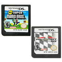 New Super Mario Bros + Mario Kart DS Game Card for Nintendo NDSL DSI DS 3DS XL