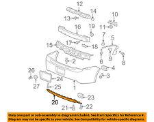 Chevrolet GM OEM 08-12 Malibu REAR BUMPER-Lower Extension 15831262