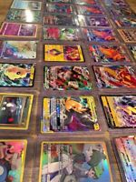 Pokemon Card Lot 100 OFFICIAL TCG Cards Ultra Rare Included - GX EX MEGA | Bulk