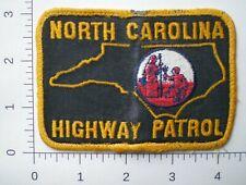 NC North Carolina Highway Patrol State Police trooper VINTAGE patch
