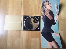 Mariah Carey - Vision Of Love - 1990 Usa 1trk Picture Cd Single, Ultra Rare.