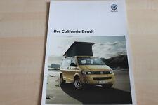 101858) VW Bus T5 Multivan Beach Prospekt 06/2010