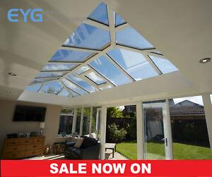 Eurocell Roof Lantern/Skypod/Roof Light White - Huge Range of Sizes