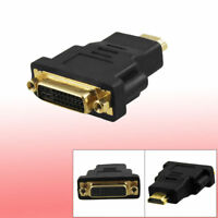 DVI-I 24+5 Female to HDMI 19 Pin male  Connector Adapter