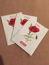 New Supreme Poppy Seeds Papaver Rhoeas Flowers Ss18 Box Logo