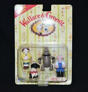 Wallace & Gromit Collectable Figures Vintage 1989