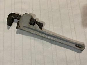 """14"""" Aluminum Pipe Wrench Heavy Duty USA"""