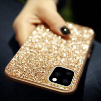 Bling Glitter Diamond Sparkle Hard Case Cover For iPhone 11 Pro Max XS Max Xr 7