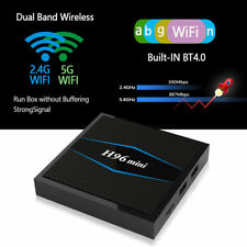 NEW H96 Mini Quad Core 2GB+16GB Smart TV Box Android 7.1 4K Dual-Band 5Ghz WIFI