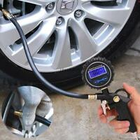 New Tire Air Inflator Tool Car Digital Tire Pressure Gauge Meter HE8Y 03