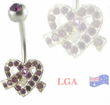Rhinestone 14g (1.6 mm) Body Piercing Jewellery