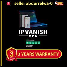 IP Vanish VPN - Account 3 YEARS - Warranty ⭐NOT SHARED VPN ⭐3 devices⭐