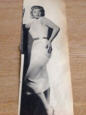 Ephemera 1956 Picture Sandra Dorne Charlie Farnsbarns Show  M52109