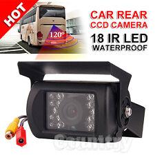 18 LED Car Rear CCD Camera HD Reversing Waterproof IR Night Vision View Reverse