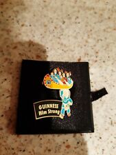 More details for millennium collectables limited edition metal guinness pin badge.