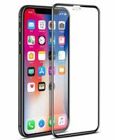 Apple iPhone X/Xs 3D CURVED [BLACK] Full Tempered Glass Screen Edge Protector