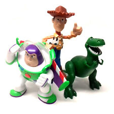"Disney Pixar Movie TOY STORY 6"" Giocattolo Figura Collezione WOODY, BUZZ, & REX THE DINO"