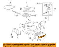 Cadillac GM OEM 13-18 ATS Interior-Rear-Rear Panel Trim 22946238