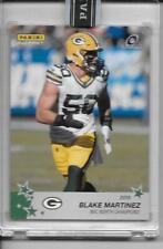 2019 Panini Instant Green Bay Packers Playoffs BLAKE MARTINEZ green 5/10 RARE