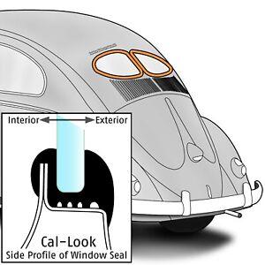 1949-1952 Volkswagen Beetle Sedan Split Rear Window Seals Cal-Look 300031
