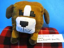 Nanco 16cm Pixel m8 Brown and White Dog plush(310-3568)
