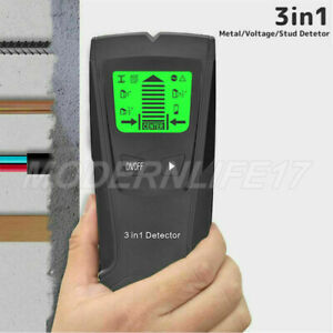 Stud Finder Wire Cable Detector Wood Metal Pipe Sensor Electric Wall Scanner UK