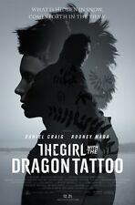 GIRL WITH THE DRAGON TATTOO 11x17 PROMO MOVIE POSTER