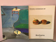 Bonhams Post-War & Contemporary Art Auctions TWO Catalogs in LA & NY May 2016