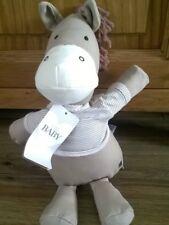 Marks and Spencer M & S  Horse Pony Baby Comforter Soft Hug Toy Beanie Plush