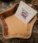 LONGABERGER PROUDLY AMERICAN - 30 YEARS - SMALL STAR BASKET flawless NEW AS IS