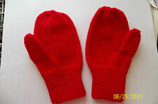 Easy Mitten Pattern For Standard Gauge Knitting Machines Sizes age 1 through Men
