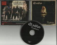 ILL NINO Confession RARE LIMITED ADVNCE VERSION PROMO DJ CD 2003