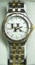 Kentucky Wildcats Watch Mens 23K Gold Logo Wristwatch GameTime General Managers
