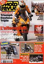 MOTO REVUE 3696 TRIUMPH Daytona 675 HONDA CBR 1100 XX HUSQVARNA APRILIA Pegaso