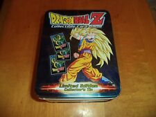 Dragon Ball Z Empty 2003 Box of Rage Limited Collector's Tin Box CCG Nice!