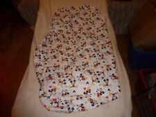 """Disney Baby Let'S Go Mickey Fitted Crib Sheet. Mattress Size ( 28"""" In X 52"""" In )"""