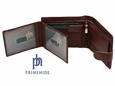 High Quality Brown Soft Calf Hide Leather Wallet by Primehide - Boxed 5002 brown