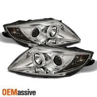 Fits 03-08 BMW Z4 E85 Sport Coupe Roadster Dual Halo Projector LED Headlights