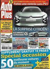 AUTO PLUS N°1461 02/09/2016  CITROEN C5/ SPECIAL OCCASION/ MEGANE BREAK/ SUV