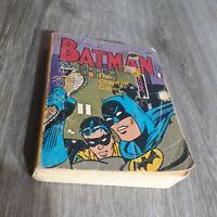 Vintage Batman The Cheetah Caper Book Whitman Big Little Book DC Comics