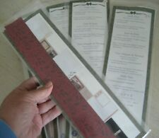 New Old Stock Creative Memories Holly Days 12 Great Length Strips Mounting Paper