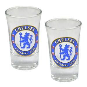 OFFICIAL CHELSEA SHOT GLASSES 2PK