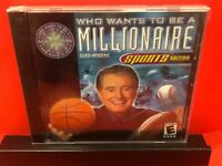Who Wants to Be a Millionaire Brand New CD -ROM Sports Edition Windows/Mac, 2000
