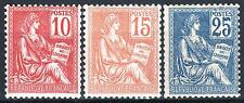 """FRANCE STAMP TIMBRE N° 116 / 118 """" MOUCHON SERIE TYPE II 1900"""" NEUFSxx LUXE M548"""