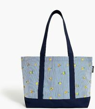 J. Crew Canvas Tote Bag Lemonie Design