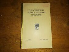 CAMBORNE School of Mines magazine 1963 CORNWALL VOLUME 63