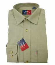 Peter England Warm Handle Herringbone Melange Shirt
