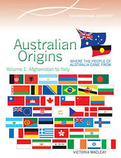 AUSTRALIAN ORIGINS VOLUME 1: AFGHANISTAN TO ITALY - BOOK  9780864271266