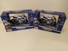 1:18 1/18 Maisto Moto GP Motorcycle YAMAHA factory racing #11 SPIES #99 LORENZO